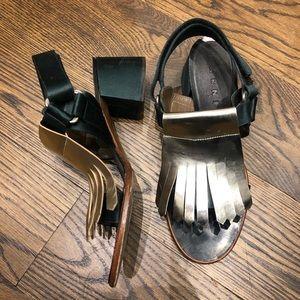 Marni Block Sandal Heels, Size 9